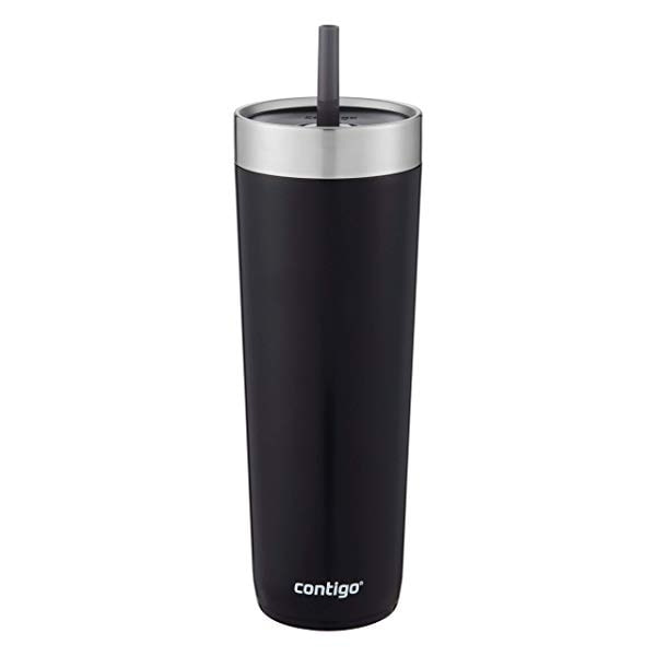 Contigo Luxe Stainless Steel Tumbler with Spill-Pr