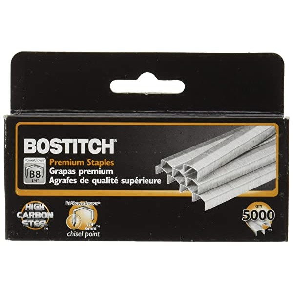 Value Pack of 6 Boxes Stanley Bostitch B8 Powercro