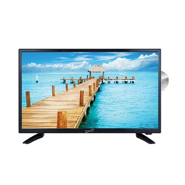 SuperSonic SC-2412H LED Widescreen HDTV 24 Built-i