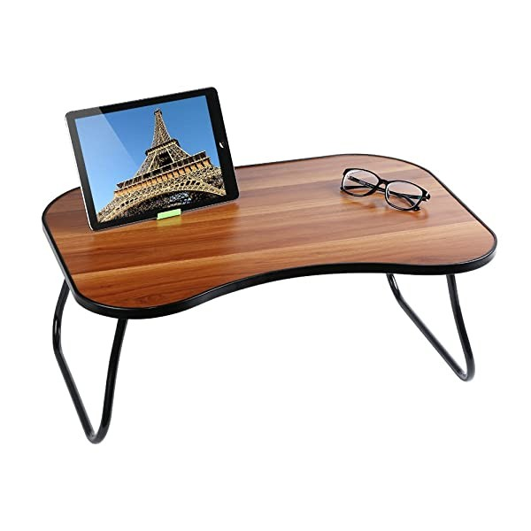 HOME BI Laptop Table for Bed23.62 x 15.75 x 9.65 M