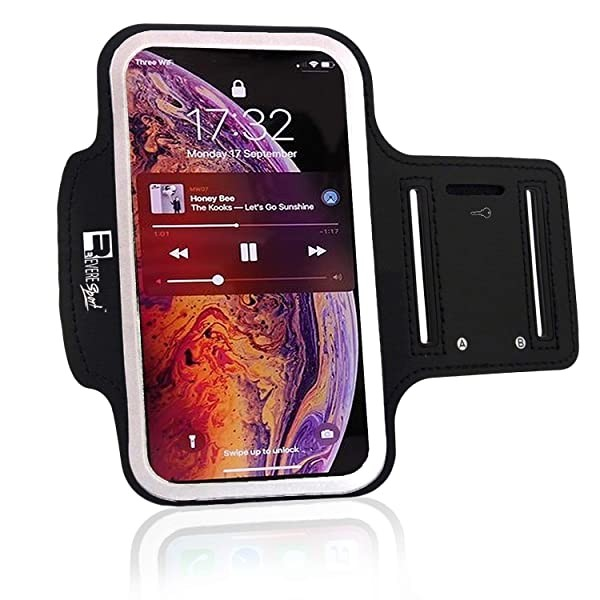 Premium iPhone Xs Armband. Sports Phone Arm Case H