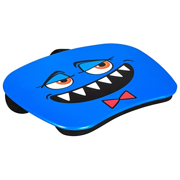 LapGear MyMonster Lap Desk - Blue - Fits up to 15.