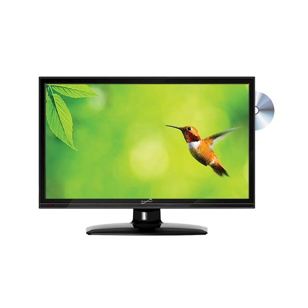 SuperSonic SC-1512H LED Widescreen HDTV 15.6 Built