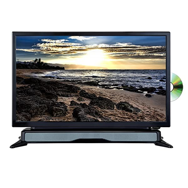 "AXESS TVD1804-24 24"" HD TV/DVD Combo with External"