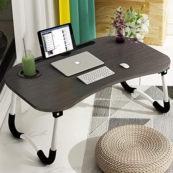 Laptop Bed Tray Table Foldable Lap Desk Stand Mult
