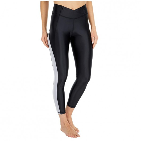 [미국] 1075392 Reebok Shiny Lycra High-Rise Tights