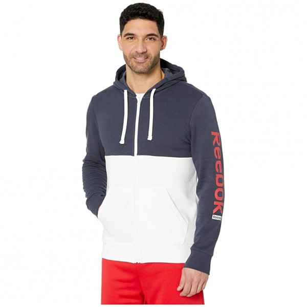 [미국] 1075387 Reebok Training Essentials Full Zip H